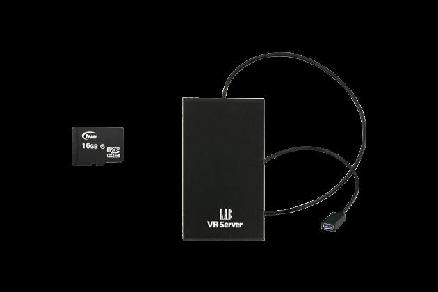VRServer(2TB)/SDカード(最大256GB)